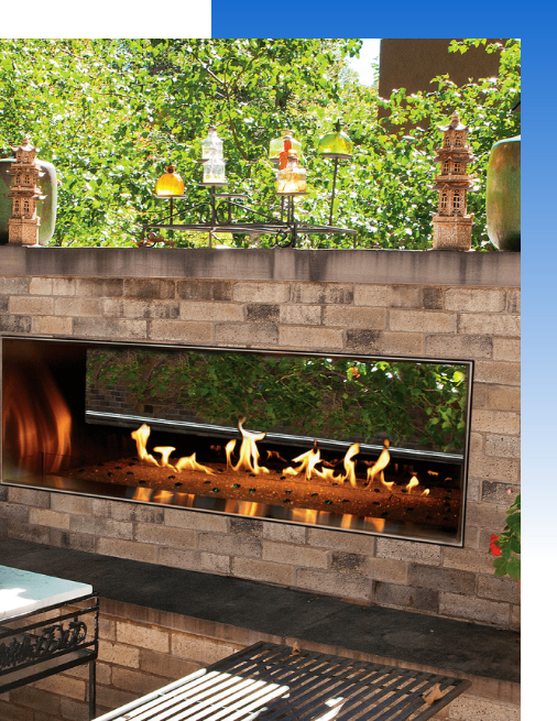 Thermotane has both indoor and outdoor fireplaces for those cold orlando winter nights.